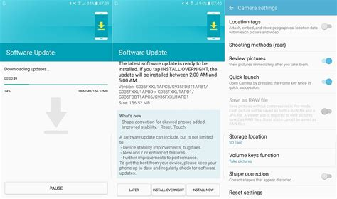 software update pg 3 t mobile samsung galaxy s7 edge