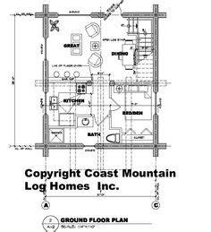 150 Small Log Home Plans Ideas   small log home plans, log ...