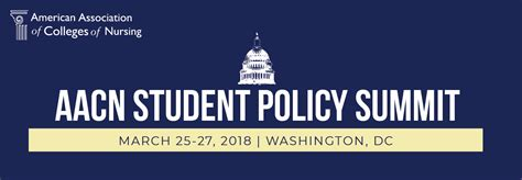 summit student policy aacn colleges association american nursing
