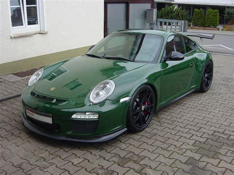 Porsche Gt3 Rs Green by Spotlight Racing Green Porsche 997 Gt3 Rs