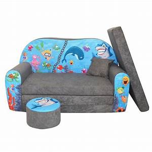 lit enfant fauteuils canape sofa pouf et coussin l39ocean With tapis chambre bébé avec canapé en 10 fois