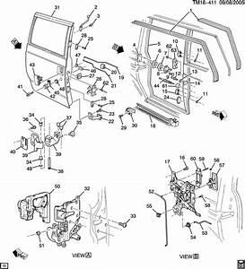 1997 Chevrolet Astro Bracket  Door Hinge  Bracket  Rr S  D