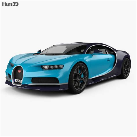Bugatti chiron (2016) free autocad drawings. Bugatti Chiron 2017 3D model - Vehicles on Hum3D