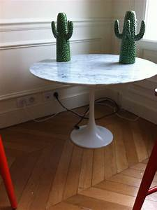 Table Basse Tulipe : table basse saarinen knoll l 39 atelier 50 boutique ~ Teatrodelosmanantiales.com Idées de Décoration