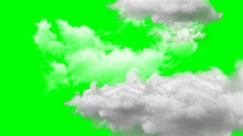 moving clouds green screen YouTube