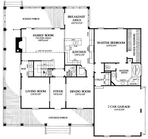 farmhouse floor plans house plan 86162 at familyhomeplans com