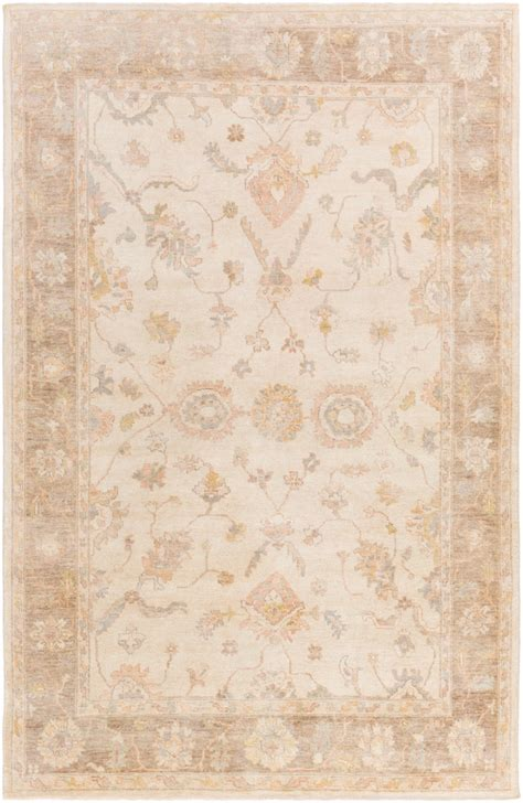 Surya Normandy Noy8004 Neutral Area Rug  Rugsalem. Brown Accent Wall. Arm Chairs. Arched French Doors. Black Nightstands. Black And White Striped Runner Rug. How To Paint Brick House. Furniture Guild. Traditional Chandeliers