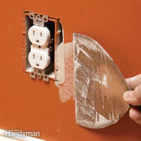 fix  oversize electrical box cutout  family