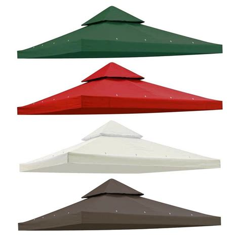 gazebo cover replacement 10 x10 gazebo canopy top replacement 2 tier uv30 patio