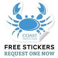 Free Coast Apparel Decals And Stickers  Best Freebie Finder