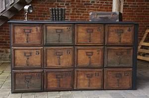 Armoire Industrielle Vintage : armoire industrielle style vintage ~ Teatrodelosmanantiales.com Idées de Décoration