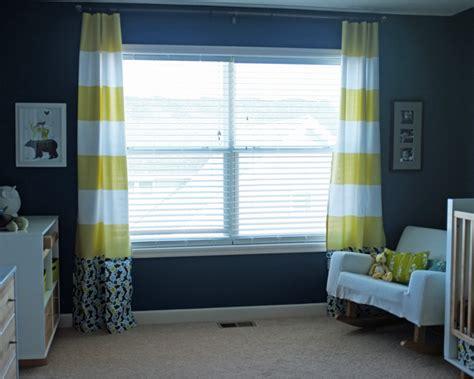 No-sew Shower Curtain Curtains Tutorial