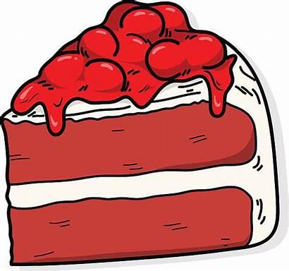 Velvet Clipart Cake Vector Clip Illustrations Velvety