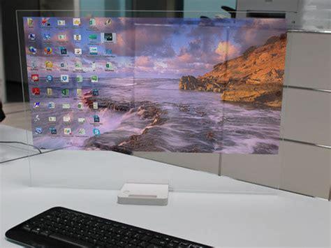 bureau pc intégré htd 01 le pc qui intègre un projecteur holographique