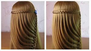 Coiffure Simple Femme : tuto coiffure tresse facile coiffure simple et rapide a faire soi meme cheveux long youtube ~ Melissatoandfro.com Idées de Décoration