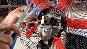 How To Fix Or Repair   Broken Fan Motor Diagnosis For Repair