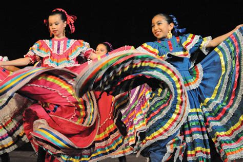 dancers show  skills  hispanic heritage  cetera