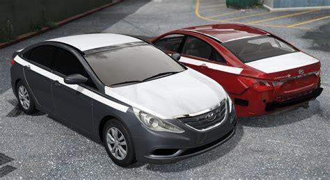 Hyundai Sonata Mods by Hyundai Sonata 2014 By Mrfive Gta5 Mods