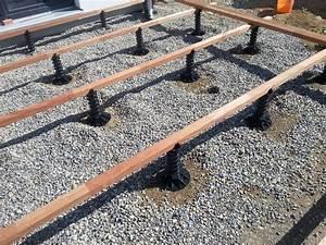 Der justierfuss justifix ii jk ist die hohenverstellbare distanz zwischen terrassen for Terrassen unterkonstruktion