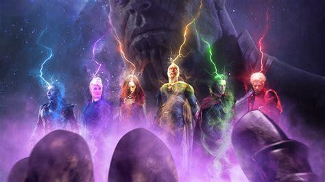 wallpaper thanos avengers infinity war fan art hd