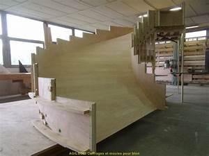 Escalier Colimaçon Beton : coffrage pour escalier beton coffrage bois pour beton ~ Melissatoandfro.com Idées de Décoration