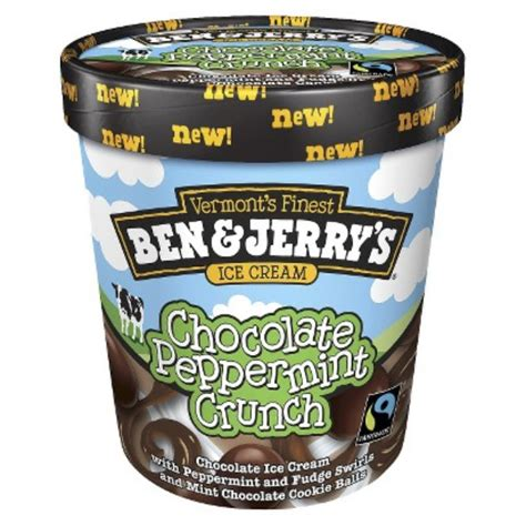 This is the better version of that other raspberry and chocolate one. Ben & Jerry's® Chocolate Peppermint Crunch Ice Cream Reviews 2020