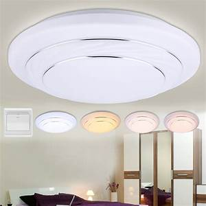 Modes dimmable w led round ceiling down light flush