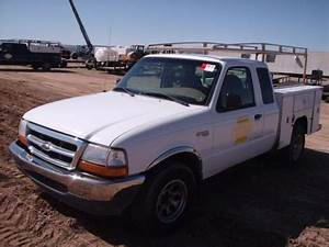 2000 Ford Ranger Pickup W   Utility Bed