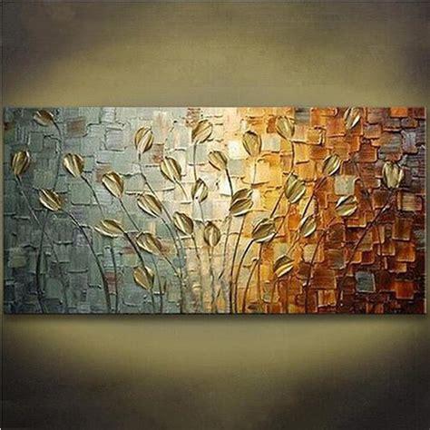Bild Modern by Handgemalte Acryl Messer Floral Gem 228 Lde Moderne Abstrakte