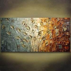 Fotos Auf Acryl : handgemalte acryl messer floral gem lde moderne abstrakte blumen lgem lde auf leinwand ~ Watch28wear.com Haus und Dekorationen