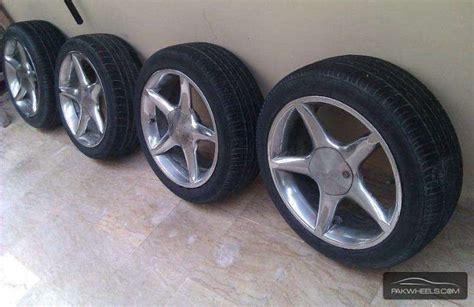 dunlop tyres  rims  sale  sale  karachi