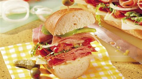 submarine sandwich recipe  betty crocker