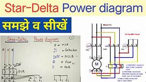 Star Delta Starter Power Diagram