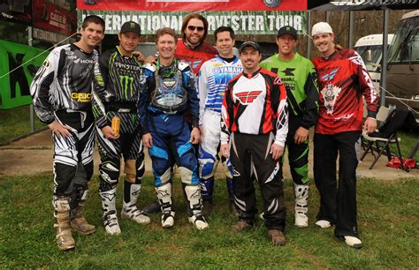 how to be a pro motocross rider fred andrews in craig morgan charity event motocross