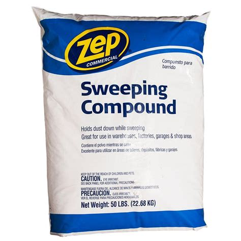 floor sweeping compound walmart zep 50 lb sweeping compound hdsweep50 the home depot