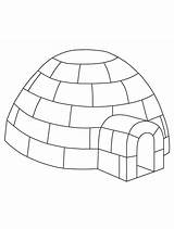Igloo Coloring Preschool Craft Winter Printable Pages Crafts Penguin Jumbo Template Yahoo Letter Animals Sheet Printables Templates Info Google Plate sketch template