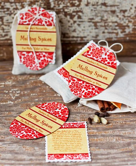 mulling spices homemade holiday gift idea