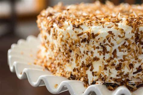 toasted coconut cake recipe
