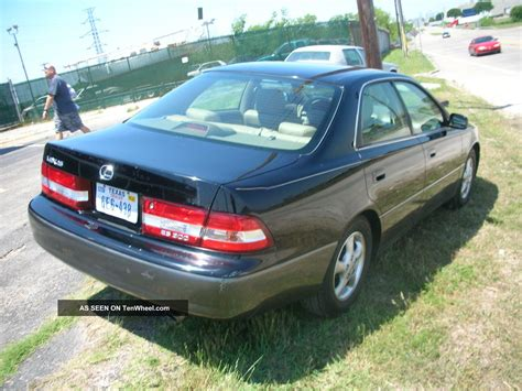 lexus sedan 2000 2000 lexus es300 base sedan 4 door 3 0l