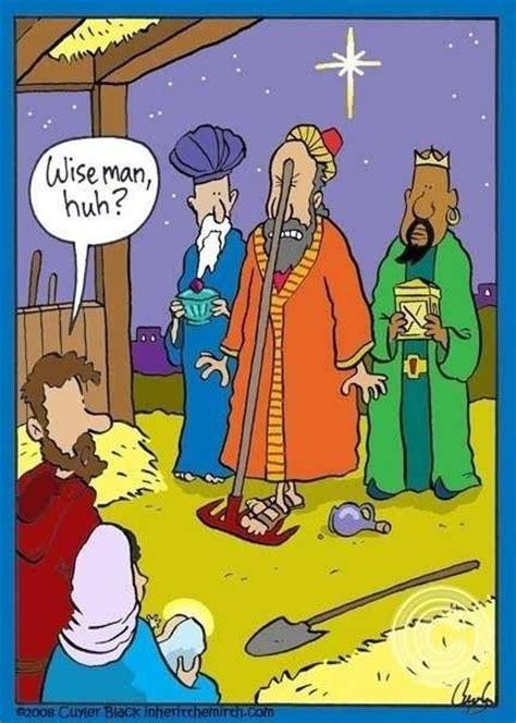 wise men  hilarious cartoons christian