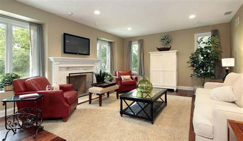 Does your living room need more personality? Showcase Of Living Room Interior Design With Fireplace