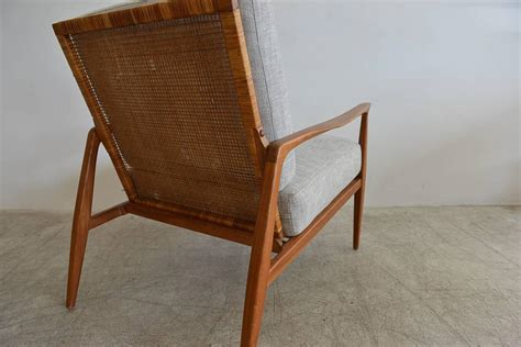 Recaning A Chair Back by Back Lounge Chair In The Manner Of Kofod