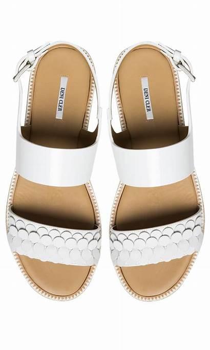Sandals Flat Sole Coloured Pl