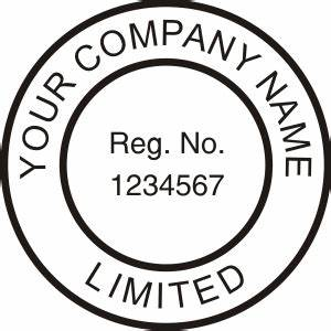 company seal press custom rubber stamp With common seal template