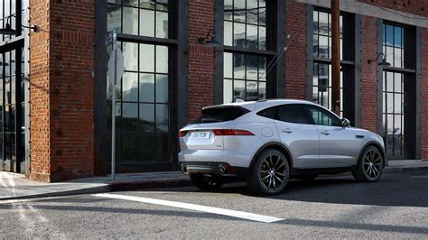 2018 Jaguar Epace In City Rear View Hd Image Latest