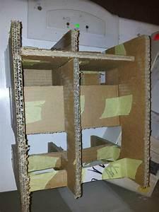 Table De Nuit Pour Lit Mezzanine : table de nuit pour lit superpos ou lit mezzanine angele en tissus ou en carton ~ Melissatoandfro.com Idées de Décoration