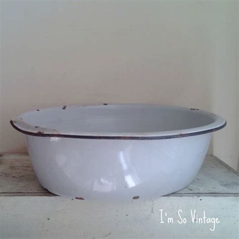 Enamel Bath Tub by Vintage Enamel Baby Bath Tub By Imsovintage On Etsy 56