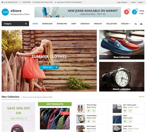 Free Website Themes 35 Best Free Woocommerce Themes For 2018