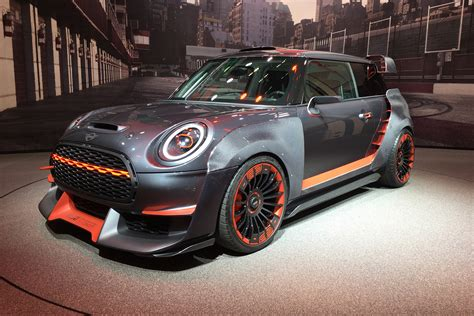 Red Hot Mini John Cooper Works Gp Concept Revealed At