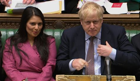 Boris Johnson vows to 'stick by' Priti Patel despite even ...